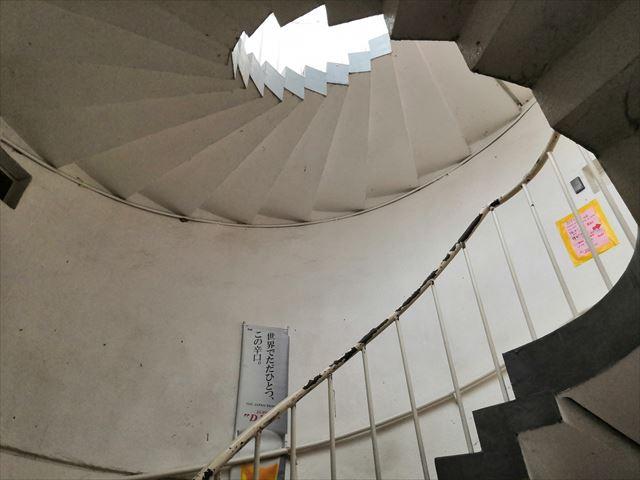 展望台階段