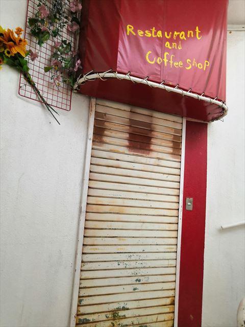 二階のカフェ