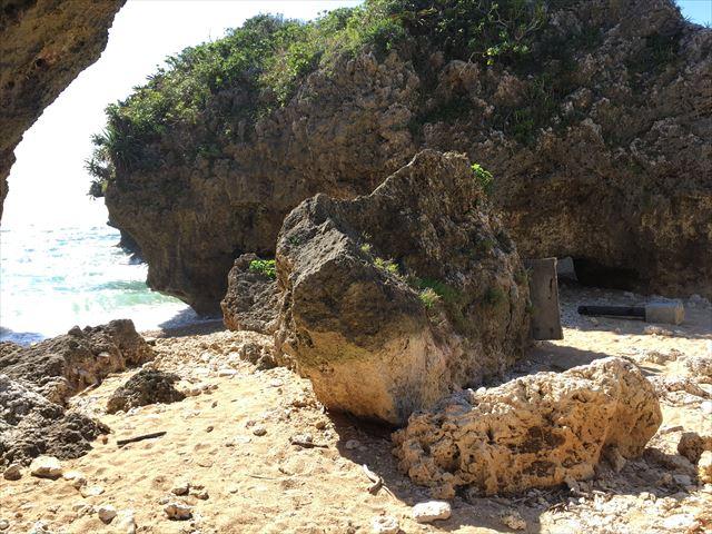 ワルミみたいな岩