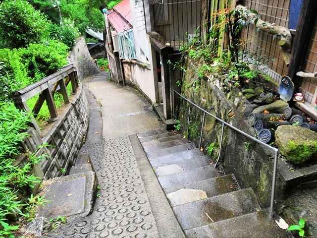 階段と坂道