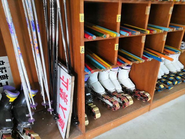 草スキー道具の画像