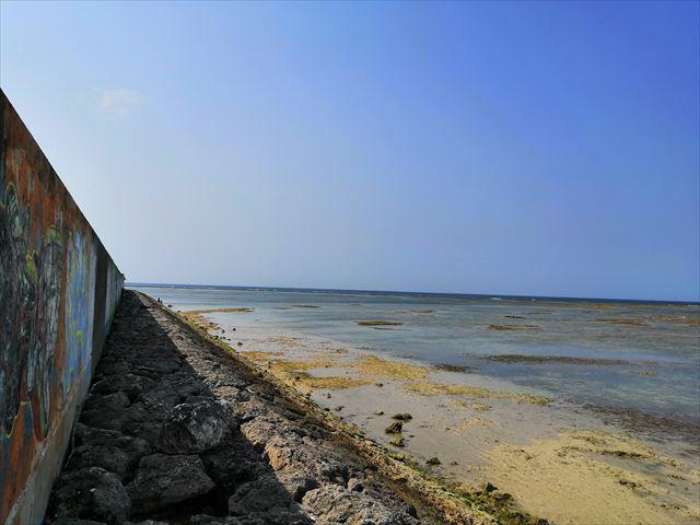 防波堤の画像
