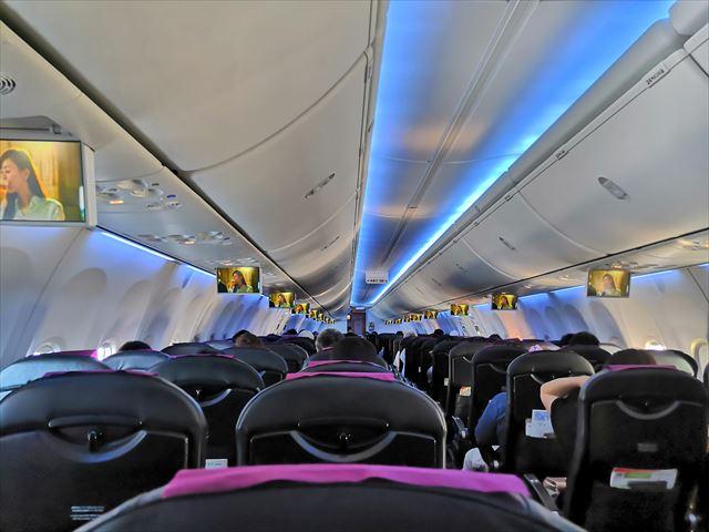 機内の画像