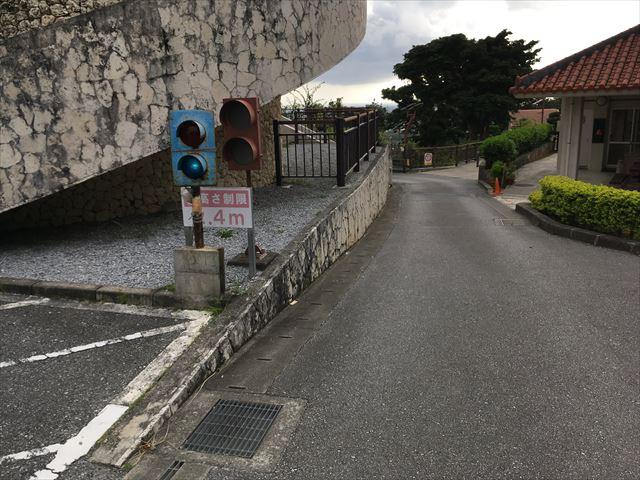 地下駐車場信号