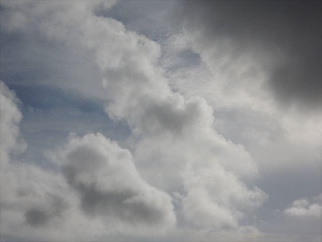 雲という大自然のフィルターを通して