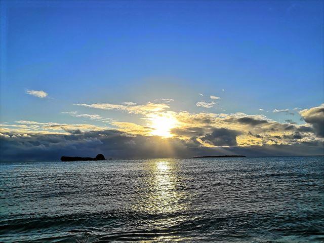 2021年パワースポット浜比嘉島で初日の出