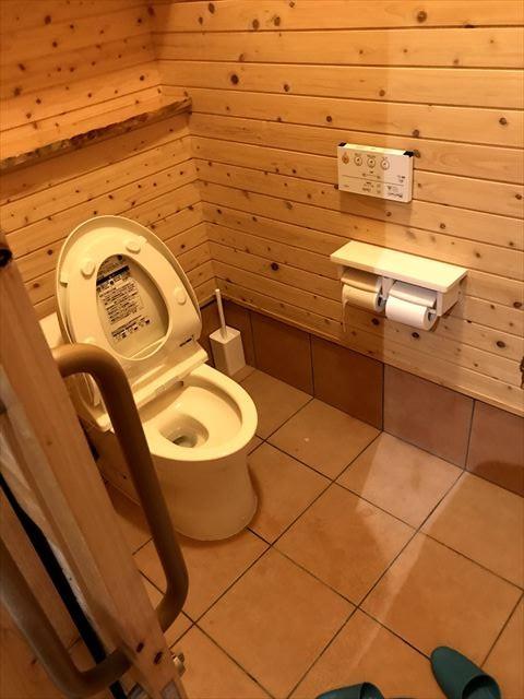共用のトイレとお風呂など