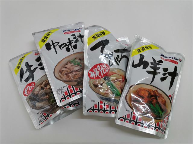 オキハムのソーキ汁でお手軽簡単沖縄料理
